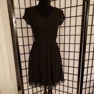 Maurices 3/4 Lace Skater Dress